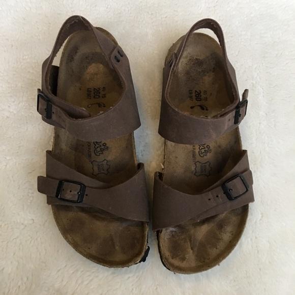a3f626a08802 Birkenstock Shoes - Birkis by Birkenstock Milano Brown Sandals size 9